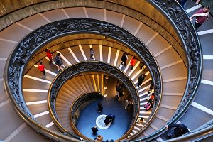 Spiral staircase in Vatican