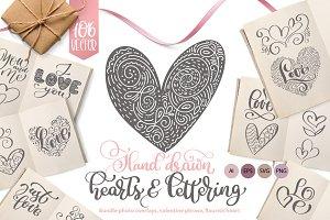Valentines Hand Drawn Collection