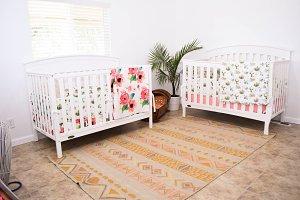 Boho Babys room