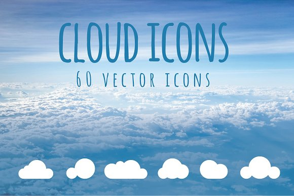 CLOUD - 60 vector icons