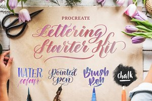 Procreate Lettering Kit—4 Brushes