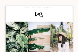 Lush - A Blog & Shop WordPress Theme