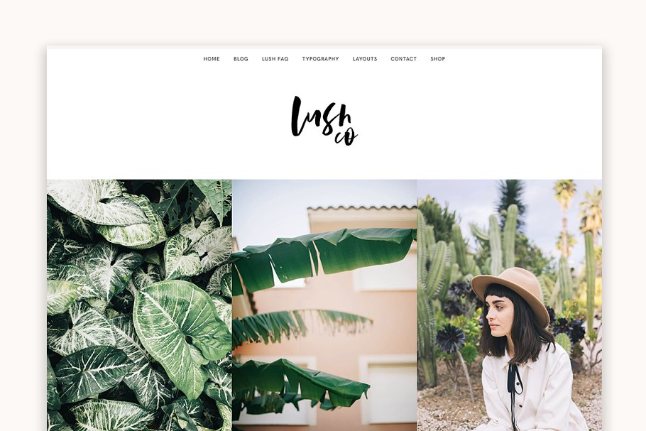 Lush - A Blog & Shop WordPress Theme