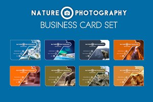 Nature Photography Business Card Set