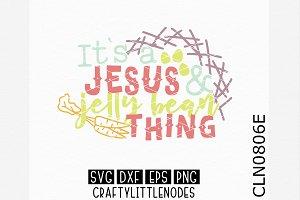 Jesus & Jelly Bean Thing