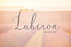 Luberon. Fine art script