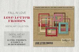Love Letter Frames