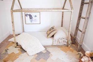 Farmhouse House Bed