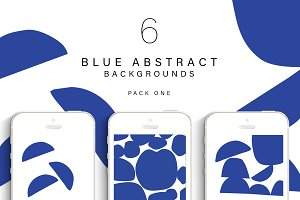 Instagram Blue Abstract - Pack One