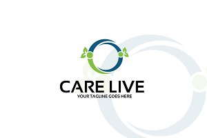 care live – Logo Template