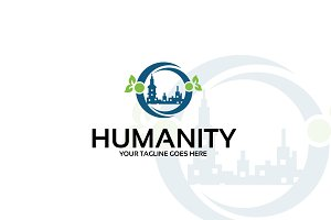 Humanity – Logo Template