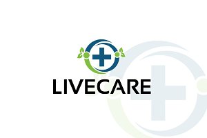 live care – Logo Template