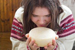 cheese. photo in Ukrainian style