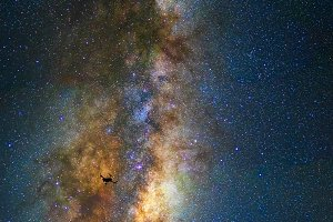 astrophotography concept