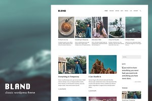 Bland - WordPress Theme