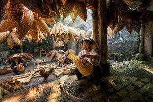 Vietnam, traditional artist concept