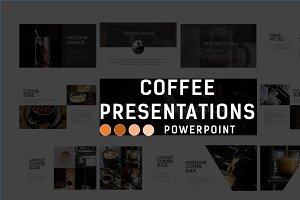 CoffeePresentation Business Template