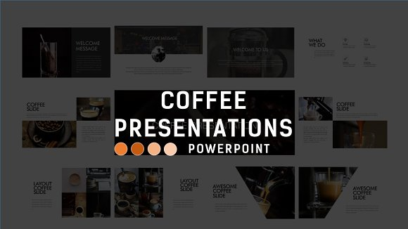 CoffeePresentation Business Template