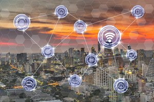 business IOT concept