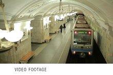 Train runaway to the tunnel.