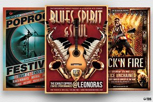 Concert Live Flyer Bundle V1