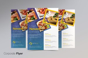 Corporate Business PSD Flyer