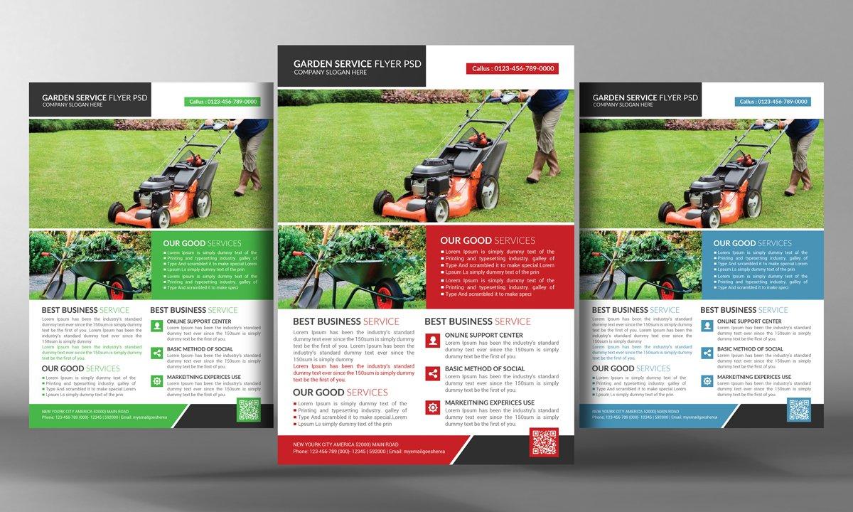 Garden Services Flyer Template ~ Flyer Templates ~ Creative Market