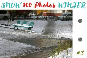 SUPER 100 photos of winter & snow 3