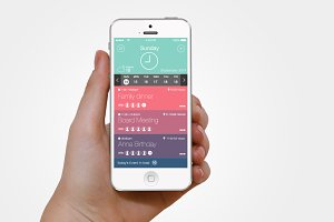 Agenda App Interface