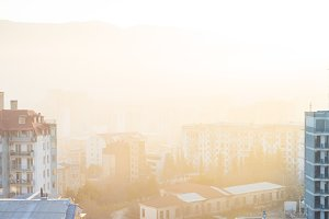 Tbilisi city downtown