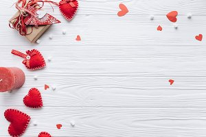 Banner for Valentine day.