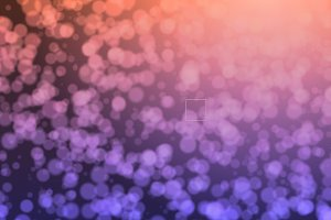 Sparkling bokeh background