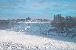 Niagara Falls in Winter.