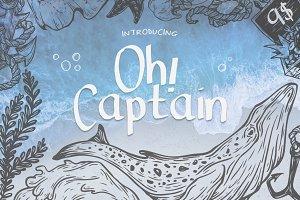 Oh Captain Font