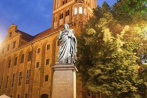 Nicolaus Copernicus Statue in Torun