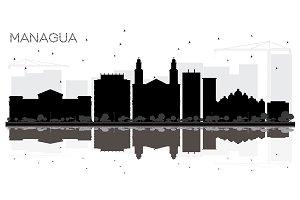 Managua Nicaragua City Skyline