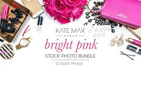 Bright Pink Fashion Stock Bundle