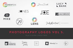 Modern Photography Logos Vol 5