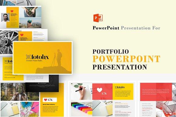 Portfolio Photography Powerpoint