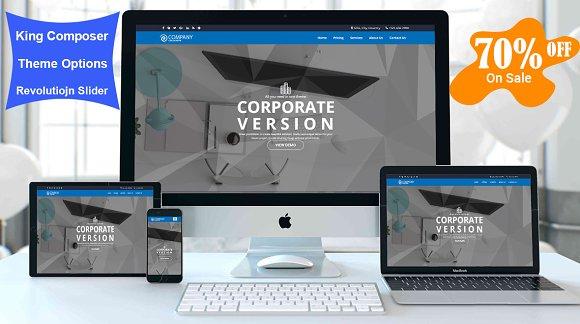Nyro Business Wordpress Theme