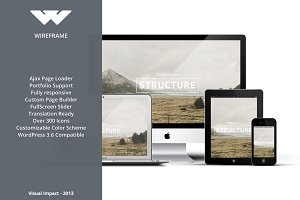 Wireframe - Multipurpose WP Theme