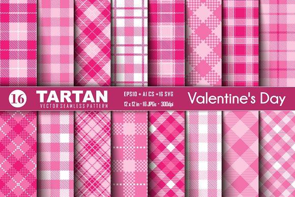 Tartan of Valentine's Day