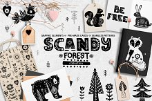 Scandy forest collection.
