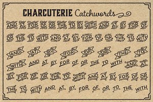 Charcuterie Catchwords