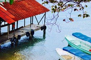 Dock, Bocas del Toro, Panama