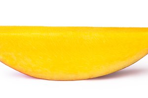 Mango slice isolated