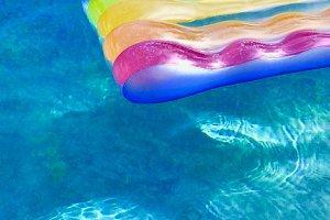 Raft With Stripes