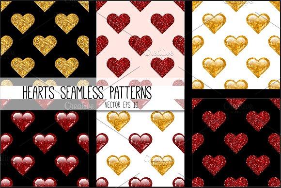 Love Hearts patterns