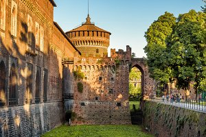 Sforza Castel in Milan