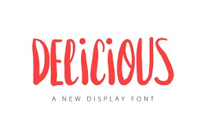 Delicious - Display Font
